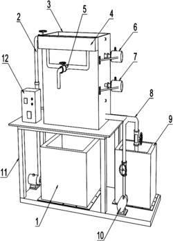 一种搅拌振动净水装置及其工作方法