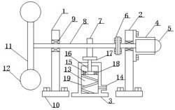 一种钟摆式空气压缩器