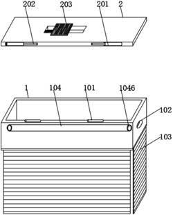 一种自适应可控制内部空间大小的香烟存放盒