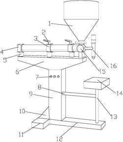 一种电磁共热式电容器自动定量沥青灌装机