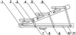 模块化折叠合照台