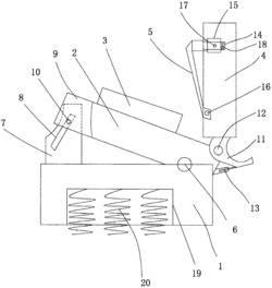 具有调节结构的纺织剪刀座