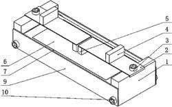 等应力悬臂杠杆中压式压电发电组件