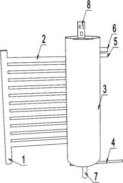 一种太阳能加热曝气法处理地下水中四氯化碳装置及其处理方法