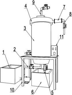 一种蜂窝膜柱霉菌氧化法处理污水中有机物设备及其工作方法