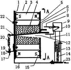 磁力击电发电装置