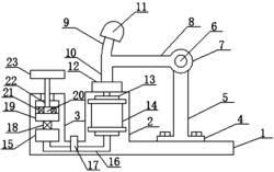 一种电磁与空气式夯桩器