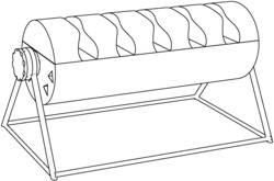 对脚指甲板修饰或其表面涂布流体的支撑装置
