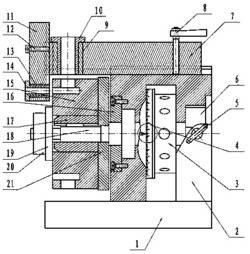 一种多功能回转分度式钻孔装置