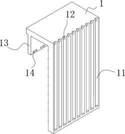 一种屋面太阳能热水器安装架