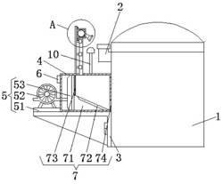 一种可降低进口粉尘的化工生产用反应釜