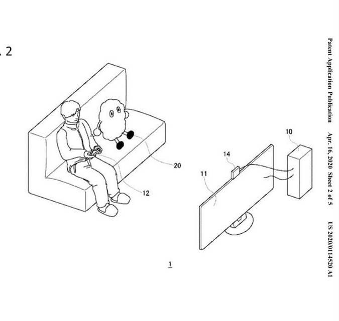 索尼申请陪玩机器人专利