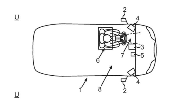 奥迪最新新专利曝光,废掉传统后视镜