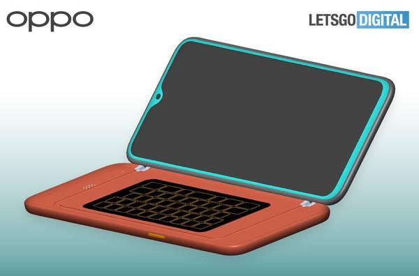 Oppo新专利致敬经典,为手机配备侧滑全键盘