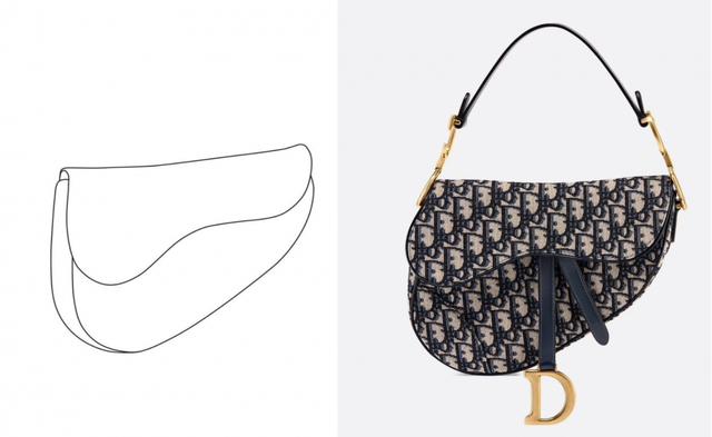 面世20年后,Dior马鞍包终于成功申请外观专利