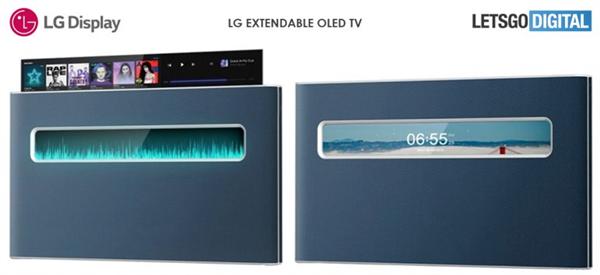 可上升可下降电视,LG全新电视专利获批
