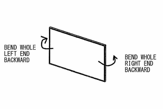 索尼专利让显示屏具有推拉检测功能